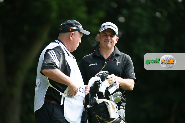 Paul McGinley (IRL) during Round Two of the 2016 BMW PGA Championship over the West Course at Wentworth, Virginia Water, London. 27/05/2016. Picture: Golffile   David Lloyd. <br /> <br /> All photo usage must display a mandatory copyright credit to &copy; Golffile   David Lloyd.