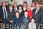 Gavin Collins, Ballyard, Tralee (front centre), celebrating his confirmation in the Station House, Blennerville, on Friday with his family. Front l-r: Cian, Gavin and Tara. Back l-r: Noel, Nancy, Michael, Connie, Alan and Jackie Collins, John Paxton and George McKeown.   Copyright Kerry's Eye 2008