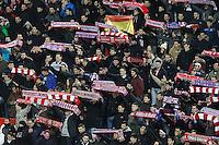 Atletico de Madrid's supporters during La Liga match.January 24,2015. (ALTERPHOTOS/Acero) /NortePhoto<br /> NortePhoto.com