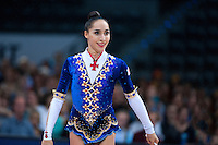 September 11, 2015 - Stuttgart, Germany - SALOME PAZHAVA of Georgia performs during AA final at 2015 World Championships.
