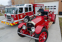 A 2018 E-One pumper has been added to the fleet of Sarnia fire trucks while a restored 1921 American LaFrance also has a shining future with the department.