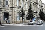 Baku - Azerbaijan - 17 December 2014 -- Azerbaijan State Marine Academy. -- The marine academy building. -- PHOTO: Sitara Ibrahimova / EUP-IMAGES