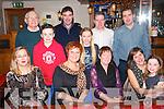having great fun on New years eve in the kerins o'Rahillys GAA club,Tralee last Tuesday night were(seated)L-R Hazel Nix,Trish Moran with Susan,Susie&katie Nix(back)L-R Tony slattery,Sreven,Morgan&Olivia Nix,gerard Moran and John Nix