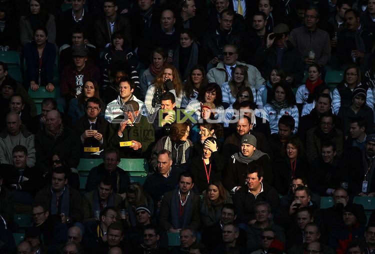 PICTURE BY VAUGHN RIDLEY/SWPIX.COM - Rugby Union - Oxford University RFC v Cambridge University RUFC - Twickenham, London, England - 10/12/09...Copyright - Simon Wilkinson - 07811267706...Fans, Supporters.