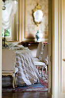 A glimpse into the formal dining room