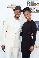 Swizz Beatz and Alicia Keyes attending the 2012 Billboard Music Awards held at the MGM Grand Garden Arena in Las Vegas, Nevada on 20.05.2012..Credit: Martin Smith/face to face /MediaPunch Inc. ***FOR USA ONLY*** / Mediapunchinc