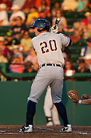 Catcher James McCann #20 of the Lakeland Flying Tigers during the game against the Daytona Cubs at Jackie Robinson Ballpark on April 28, 2012 in Daytona Beach, Florida. (Scott Jontes/Four Seam Images)