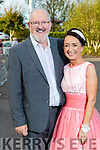 John Cullen and Marie O'Sullivan (Farranfore) at the Rose of Tralee fashion show at the dome on Sunday night.