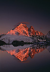 Alpenglow, Savoy Alps, France<br />