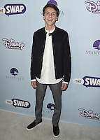 """HOLLYWOOD - OCTOBER 5:  Jacob Bertrand at the Los Angeles premiere of """"The Swap"""" at ArcLight Hollywood on October 5, 2016 in Hollywood, California. Credit: mpi991/MediaPunch"""
