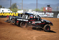 Apr 15, 2011; Surprise, AZ USA; LOORRS driver Austin Kimbrell (88) during round 3 and 4 at Speedworld Off Road Park. Mandatory Credit: Mark J. Rebilas-.