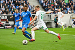 11.05.2019, PreZero Dual Arena, Sinsheim, GER, 1. FBL, TSG 1899 Hoffenheim vs. SV Werder Bremen, <br /> <br /> DFL REGULATIONS PROHIBIT ANY USE OF PHOTOGRAPHS AS IMAGE SEQUENCES AND/OR QUASI-VIDEO.<br /> <br /> im Bild: Kerem Demirbay (TSG Hoffenheim #10) gegen Johannes Eggestein (SV Werder Bremen #24)<br /> <br /> Foto &copy; nordphoto / Fabisch