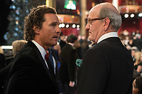 Matthew McConaughey and Oscar&reg; nominee for Actor in a Supporting Role, Richard Jenkins, at the 90th Oscars&reg; at the Dolby&reg; Theatre in Hollywood, CA on Sunday, March 4, 2018.<br /> *Editorial Use Only*<br /> CAP/PLF/AMPAS<br /> Supplied by Capital Pictures