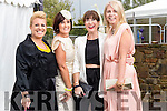 Ashley O'Shea (Tralee) Deirdre Gaudino( Ballyseedy), Helen O'Carroll (Tralee) and Mandy Clail (Ballyseedy), pictured at the Rose of Tralee Fashion Show on Sunday night last held in the Dome, Tralee.