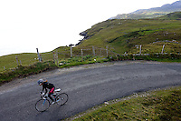Coast Road, Donegal, Ireland Cycling along County Donegal's Coast Road, Sli an Atlantaigh Fhiáin, Ireland.