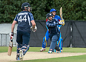 Cricket Scotland - Scotland V Namibia World Cricket League One-Day match today (Sun) at Grange CC - Preston Mommsen hits out - this match is the first of two WCL games this week against Namibia on the same ground - picture by Donald MacLeod - 11.06.2017 - 07702 319 738 - clanmacleod@btinternet.com - www.donald-macleod.com