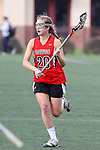 Santa Barbara, CA 02/18/12 - Katie Ezell (Georgia #20) in action during the Georgia-Michigan matchup at the 2012 Santa Barbara Shootout.  Georgia defeated Michigan 12-10.