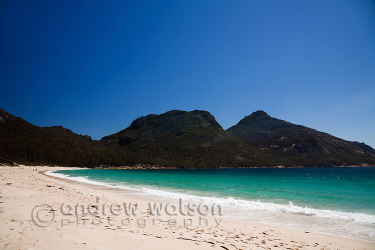 Wineglass Bay.  Freycinet National Park, Tasmania, AUSTRALIA