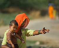 Rural Women, On the road to Jaiselmer from Pushkar Rajasthan