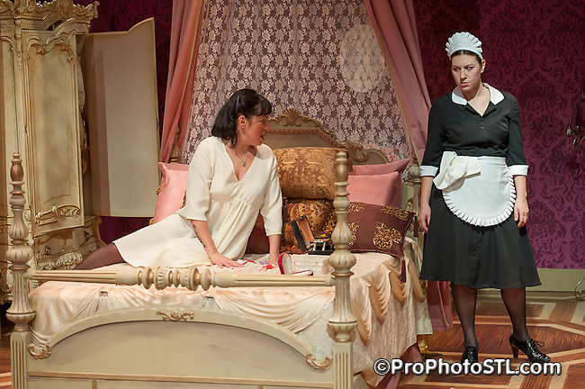 """The Maids"" by Upstream Theater presented at Kranzberg Arts Center in St. Louis, MO on Feb 16, 2012."