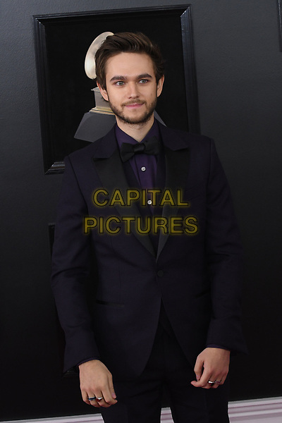 NEW YORK, NY - JANUARY 28: Zedd at the 60th Annual GRAMMY Awards at Madison Square Garden on January 28, 2018 in New York City. <br /> CAP/MPI/JP<br /> &copy;JP/MPI/Capital Pictures