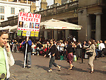 A51PC5 People passing by Covent Garden London England