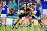 Daiththi Casey Dr Crokes in action against Brian Moran Kerins O'Rahillys in the Semi Finals of the Senior County Football Championship at Austin Stack Park on Sunday.