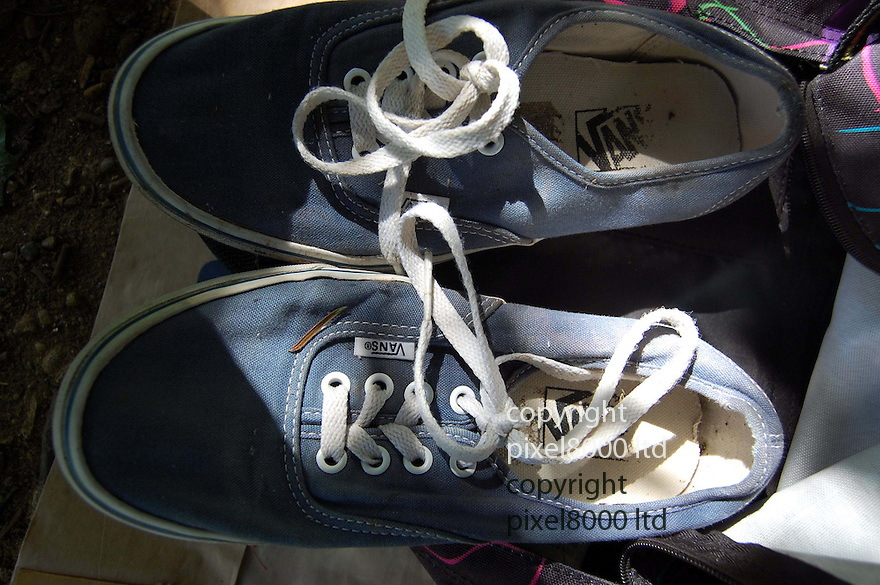 Pic shows: shoes belonging to Alice Gross<br /> <br /> Charges would have been brought against Alice Gross murder suspect Arnis Zalkalns if he had lived, police say.<br /> <br /> The body of Alice, 14, was found in the River Brent in west London on 30 September, after she went missing a month earlier.<br /> <br /> The corpse of Latvian builder Zalkalns was found less than two miles away in Boston Manor Park, on 4 October.<br /> <br /> The Met Police has told the Crown Prosecution Service saying Zalkalns was responsible for Alice's murde<br /> <br /> <br /> <br /> <br /> Pic by Pixel 8000 Ltd