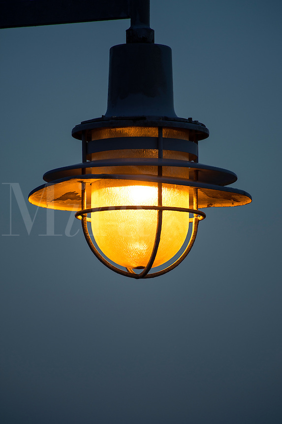 Streetlamp detail.
