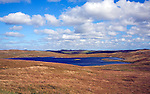 Loch of Burga Water, near Walls, Mainland, Shetland Islands, Scotland