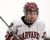 Leanna Coskren (Harvard - 24) - The Harvard University Crimson defeated the Boston College Eagles 5-0 in their Beanpot semi-final game on Tuesday, February 2, 2010 at the Bright Hockey Center in Cambridge, Massachusetts.