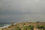 Israel, Coastal Plain, a view of Tel Ashkelon