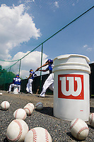 BASEBALL - GREEN ROLLER PARK - PRAGUE (CZECH REPUBLIC) - 24/06/2008 - PHOTO: CHRISTOPHE ELISE.BASE BALLS (TEAM FRANCE)