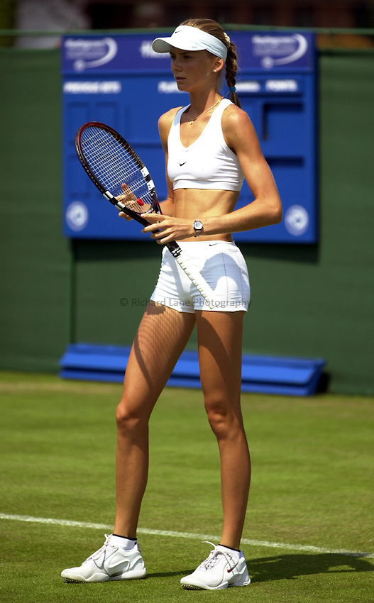 Photo: Richard Lane..Hastings Direct International Championship 2003..16/06/2003..Daniela Hantuchova