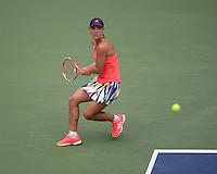 FLUSHING NY- SEPTEMBER 10: Angelique Kerber Vs Karolina Pliskova during the womens finals on Arthur Ashe Stadium at the USTA Billie Jean King National Tennis Center on September 10, 2016 in Flushing Queens. Credit: mpi04/MediaPunch