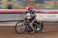 Ben Morley of Lakeside Hammers<br /> <br /> Photographer Rob Newell/CameraSport<br /> <br /> National League Speedway - Lakeside Hammers v Eastbourne Eagles - Lee Richardson Memorial Trophy, First Leg - Friday 14th April 2017 - The Arena Essex Raceway - Thurrock, Essex<br /> &copy; CameraSport - 43 Linden Ave. Countesthorpe. Leicester. England. LE8 5PG - Tel: +44 (0) 116 277 4147 - admin@camerasport.com - www.camerasport.com