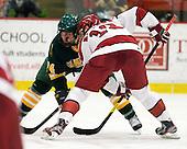 Ben Sexton (Clarkson - 74), Alex Killorn (Harvard - 19) - The Harvard University Crimson defeated the visiting Clarkson University Golden Knights 3-2 on Harvard's senior night on Saturday, February 25, 2012, at Bright Hockey Center in Cambridge, Massachusetts.