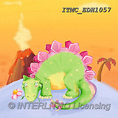 Marcello, CUTE ANIMALS, LUSTIGE TIERE, ANIMALITOS DIVERTIDOS, paintings+++++,ITMCEDH1057,#AC#, EVERYDAY ,dinos,dinosaurs