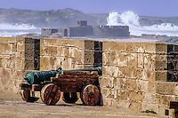 Essaouira, Morocco - Sea Ramparts, Portuguese Cannon.