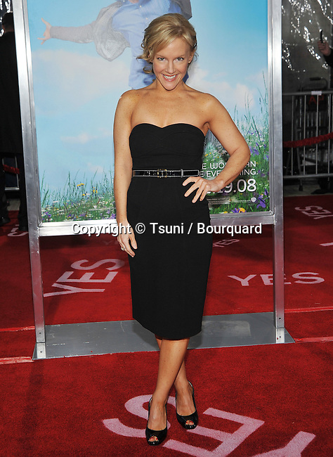 Rachel Harris -<br /> Yes Man Premiere at the Westwood Village Theatre In Los Angeles.