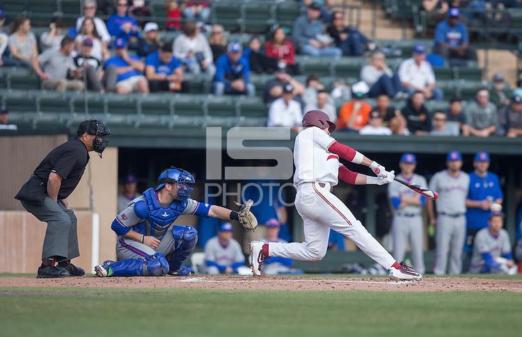 Stanford, CA - February 25, 2017: The Stanford Baseball team defeated Kansas Jayhawks 5-0 at Sunken Diamond field in Stanford