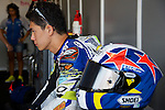 FIM CEV REPSOL in Navarra during the Spanish Championship 2014.<br /> Los Arcos, navarra, spain<br /> September 07, 2014. <br /> Moto3<br /> sena yamada<br /> PHOTOCALL3000/ RME