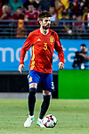 Gerard Pique of Spain during the friendly match between Spain and Colombia at Nueva Condomina Stadium in Murcia, jun 07, 2017. Spain. (ALTERPHOTOS/Rodrigo Jimenez)