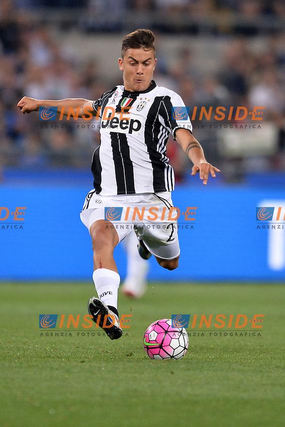 Paulo Dybala Juventus.<br /> Roma 21-05-2016  Stadio Olimpico<br /> Finale Coppa Italia, Tim Cup.<br /> Milan - Juventus<br /> Foto Antonietta Baldassarre / Insidefoto