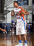 Texas-Arlington Mavericks guard Cameron Catlett (25) in action during the game between the UTA Mavericks and the Sam Houston State Bearkats held at the University of Texas at Arlington's, Texas Hall, in Arlington, Texas. Sam Houston defeats UTA 78 to 74