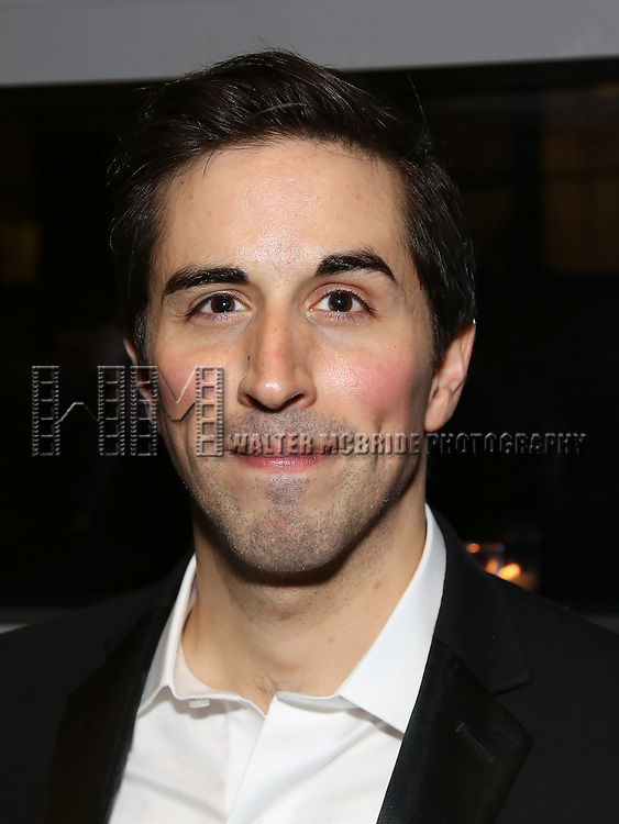 Matthew Scott attend the DGF Reception for Andrew Lippa & Friends at Landmarc on February 1, 2017 in New York City.