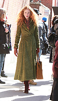 MAR 18 Nicole Kidman filming  on location for HBO show The Undoing