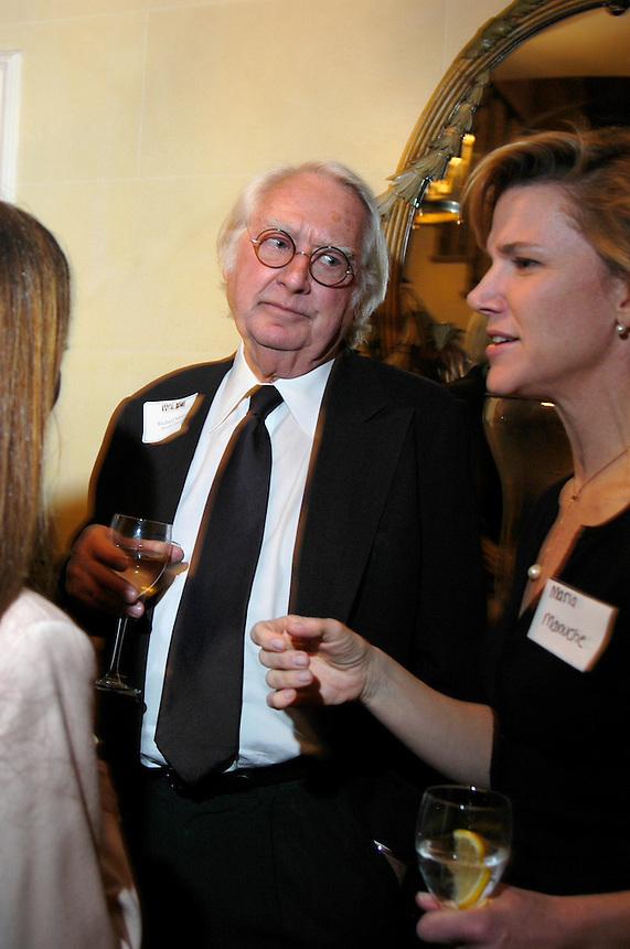 Richard Meier at dinner for the Women's Campaign on 3/7/05