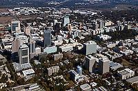 aerial photograph Sacramento, California