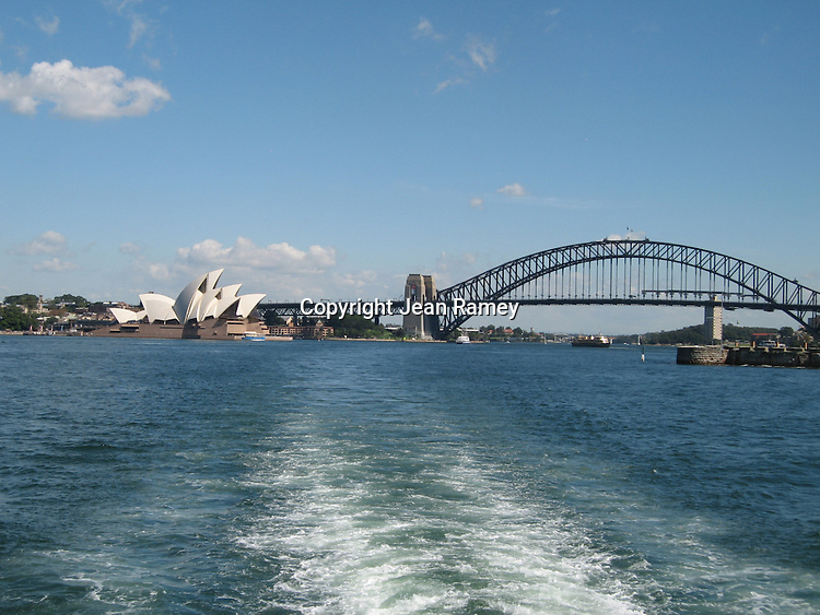 Sailing on beautiful Sydney Harbor